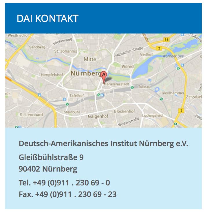 Deutsch Amerikanisches Institut Nürnberg